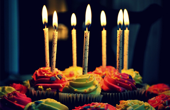 Cute Birthday Cake Cup