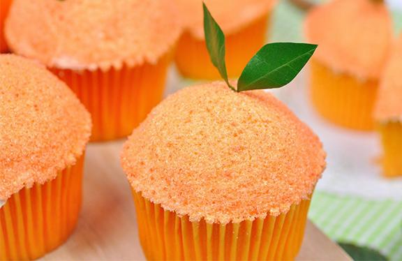 Cup Cake Orange